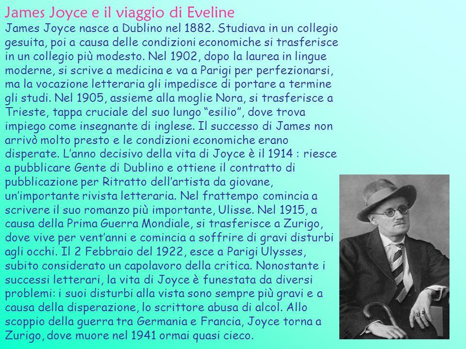 James Joyce e il viaggio di Eveline