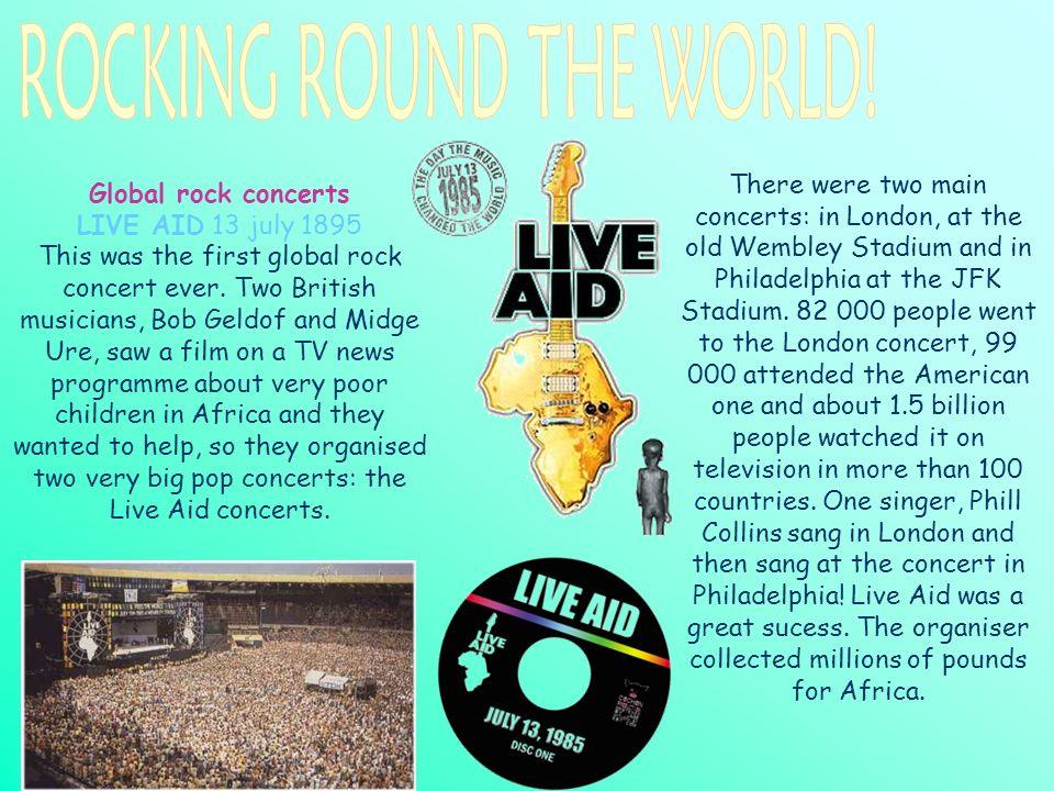 ROCKING ROUND THE WORLD!