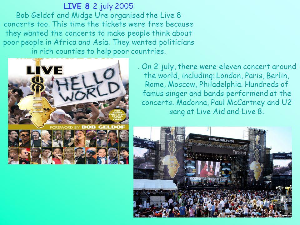 LIVE 8 2 july 2005