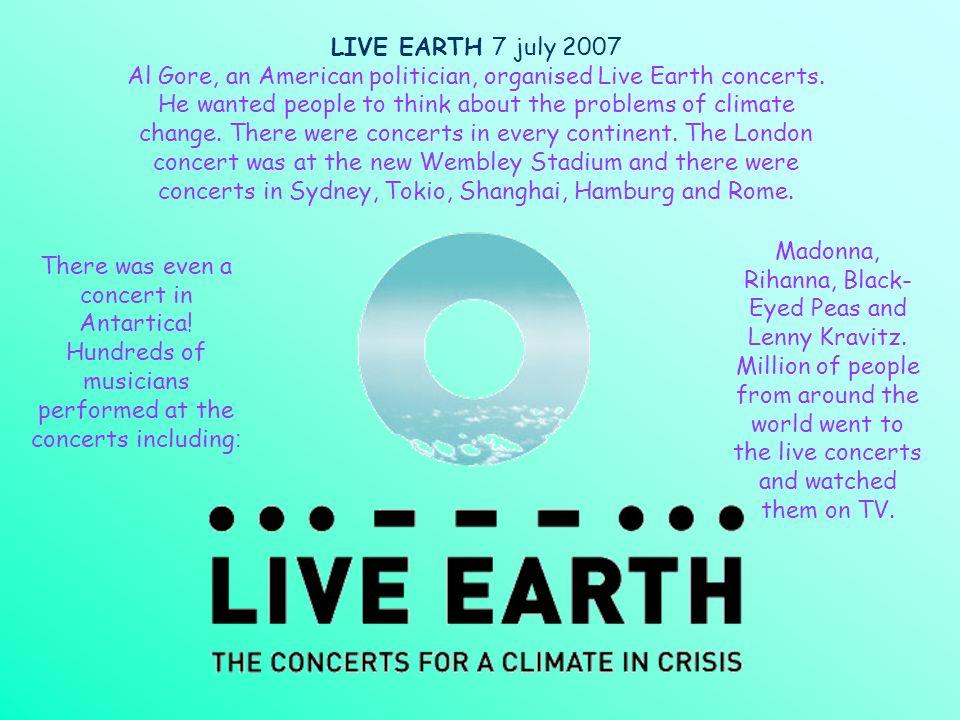 LIVE EARTH 7 july 2007