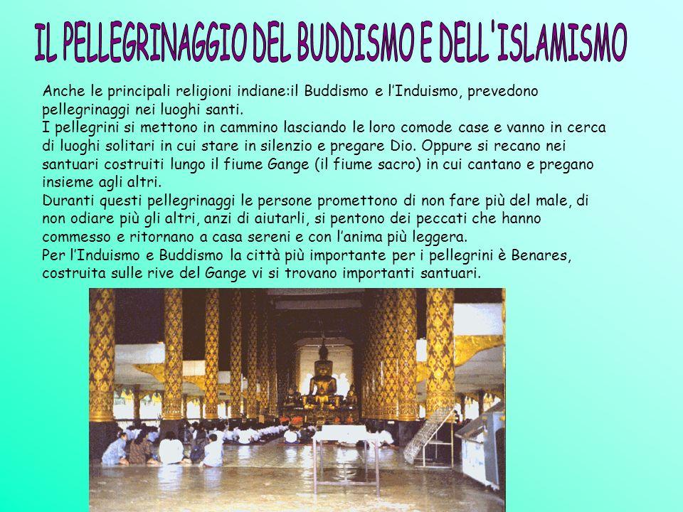 IL PELLEGRINAGGIO DEL BUDDISMO E DELL ISLAMISMO