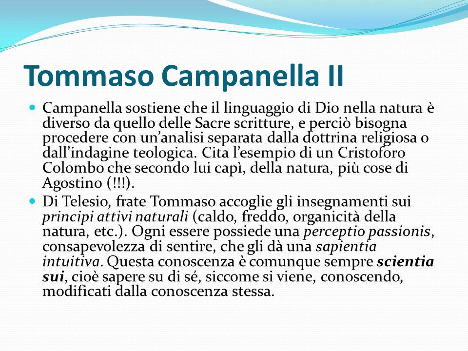 Tommaso Campanella II