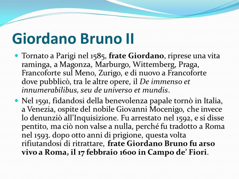 Giordano Bruno II