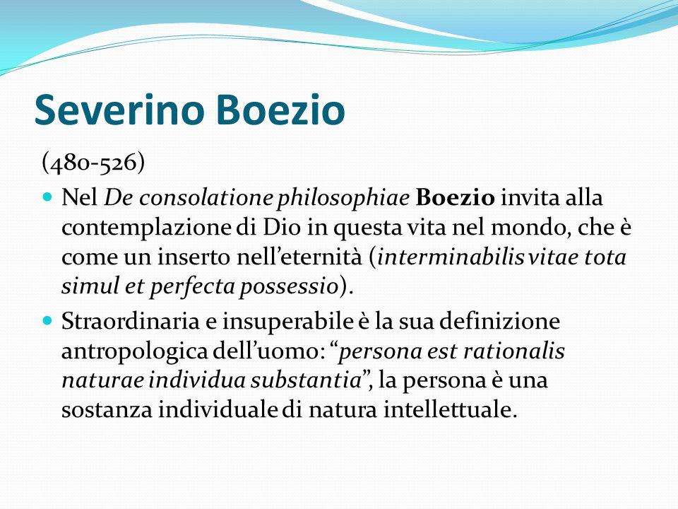 Severino Boezio (480-526)