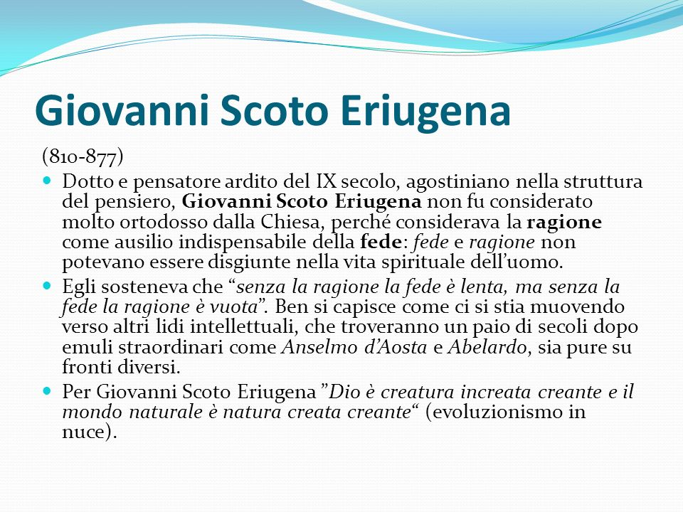 Giovanni Scoto Eriugena