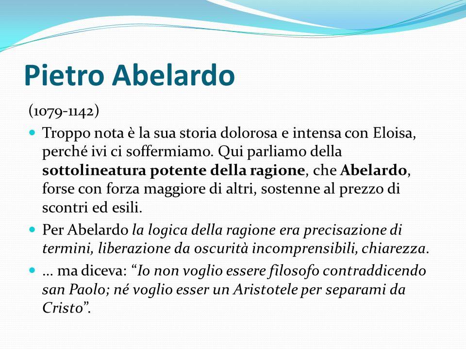 Pietro Abelardo (1079-1142)