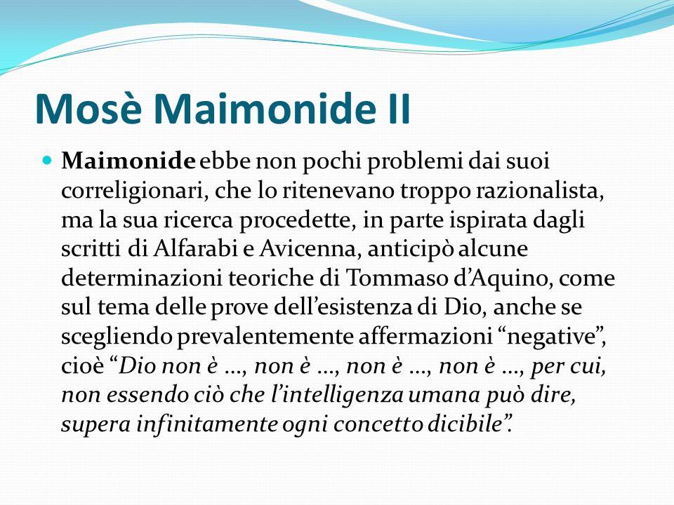 Mosè Maimonide II