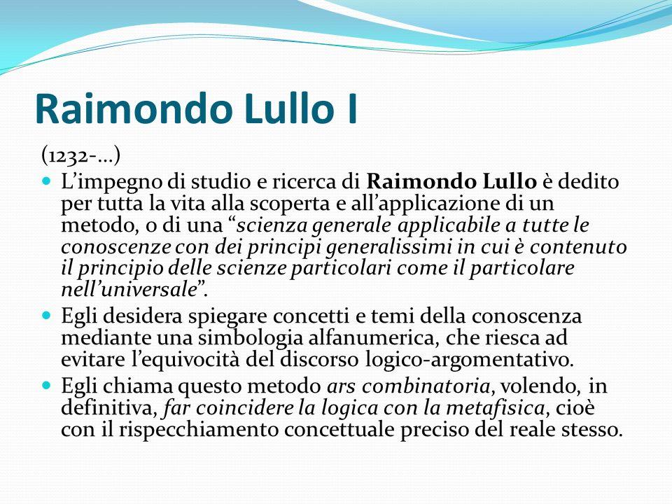 Raimondo Lullo I (1232-…)