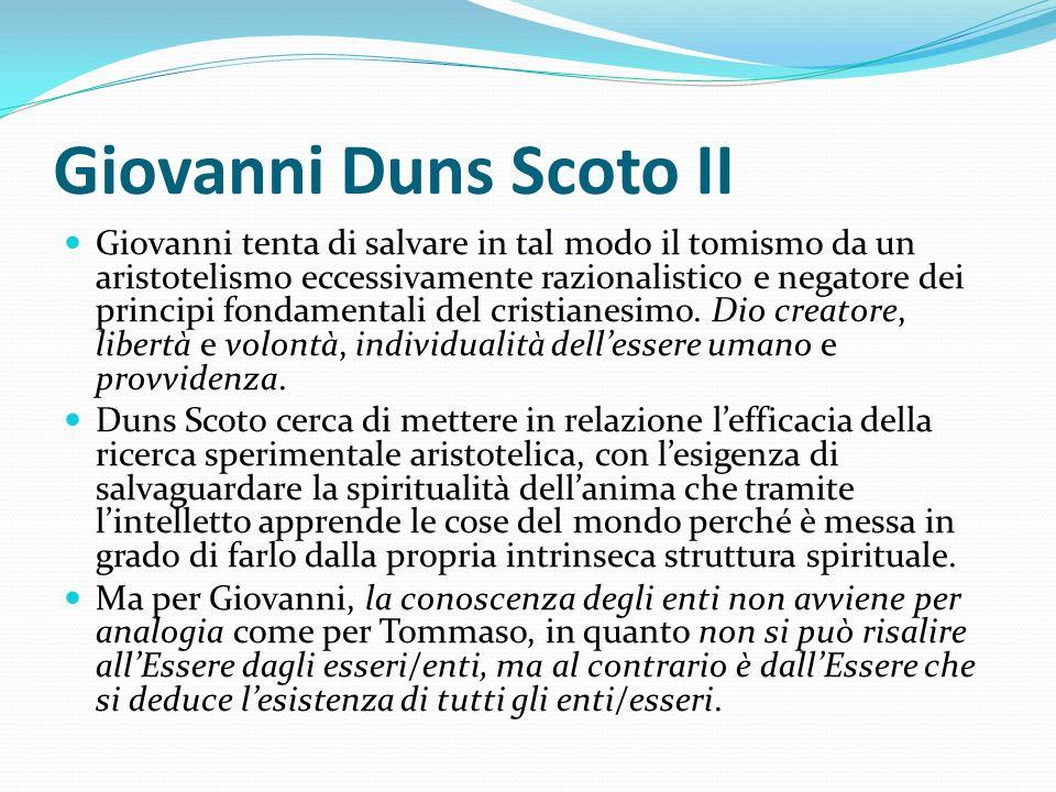 Giovanni Duns Scoto II