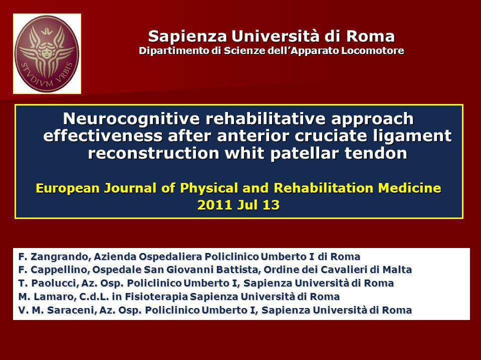 European Journal of Physical and Rehabilitation Medicine