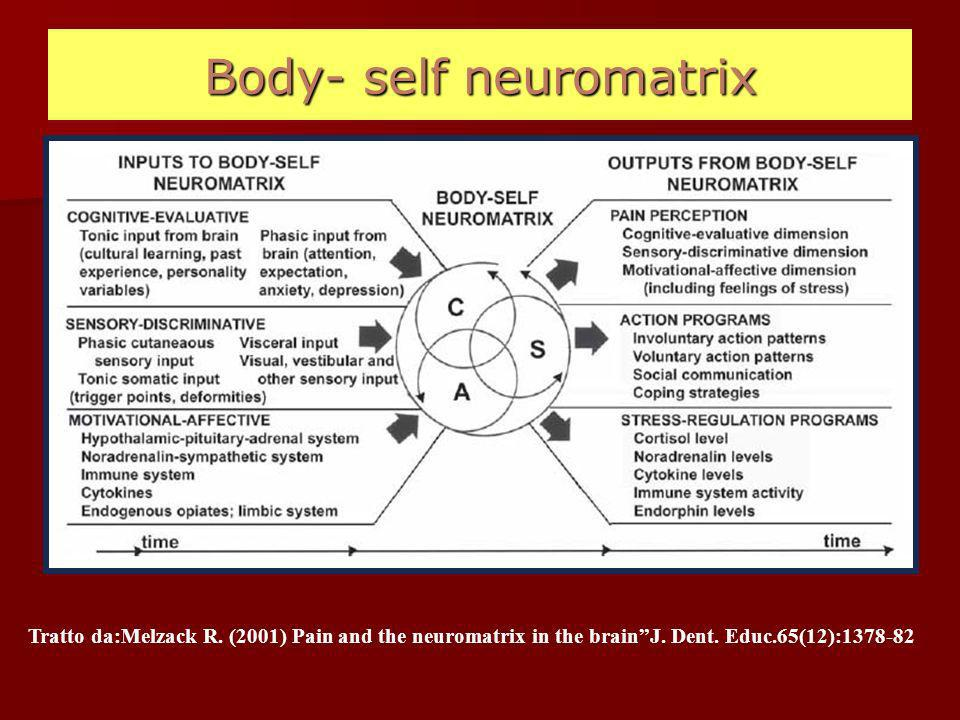 Body- self neuromatrix