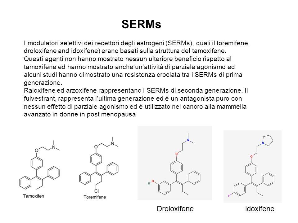 SERMs Droloxifene idoxifene