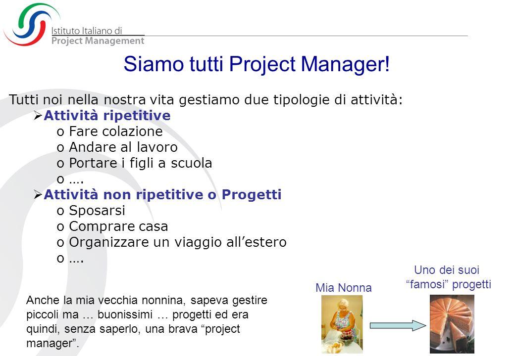 Siamo tutti Project Manager!