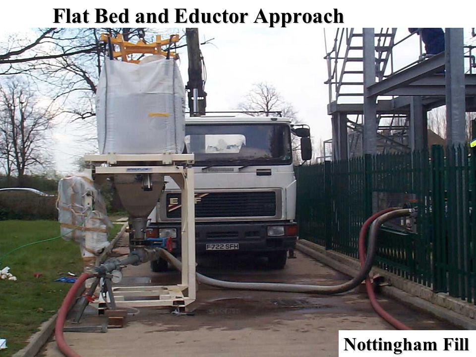 Flat Bed and Eductor Approach