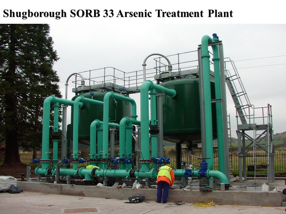 Shugborough SORB 33 Arsenic Treatment Plant