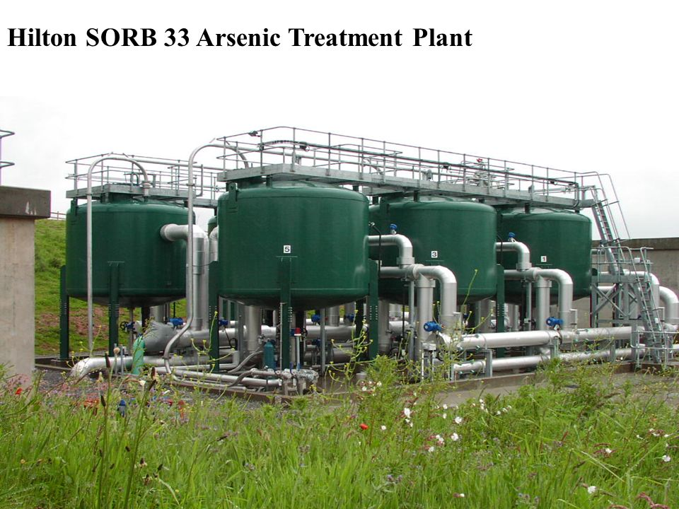 Hilton SORB 33 Arsenic Treatment Plant