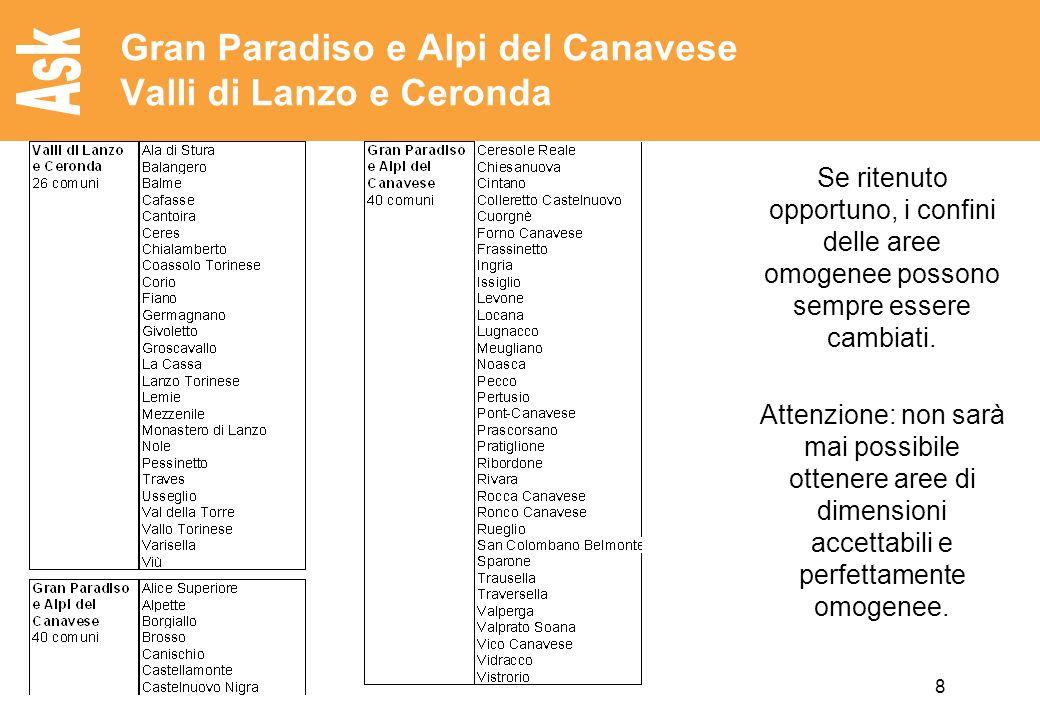 Gran Paradiso e Alpi del Canavese Valli di Lanzo e Ceronda