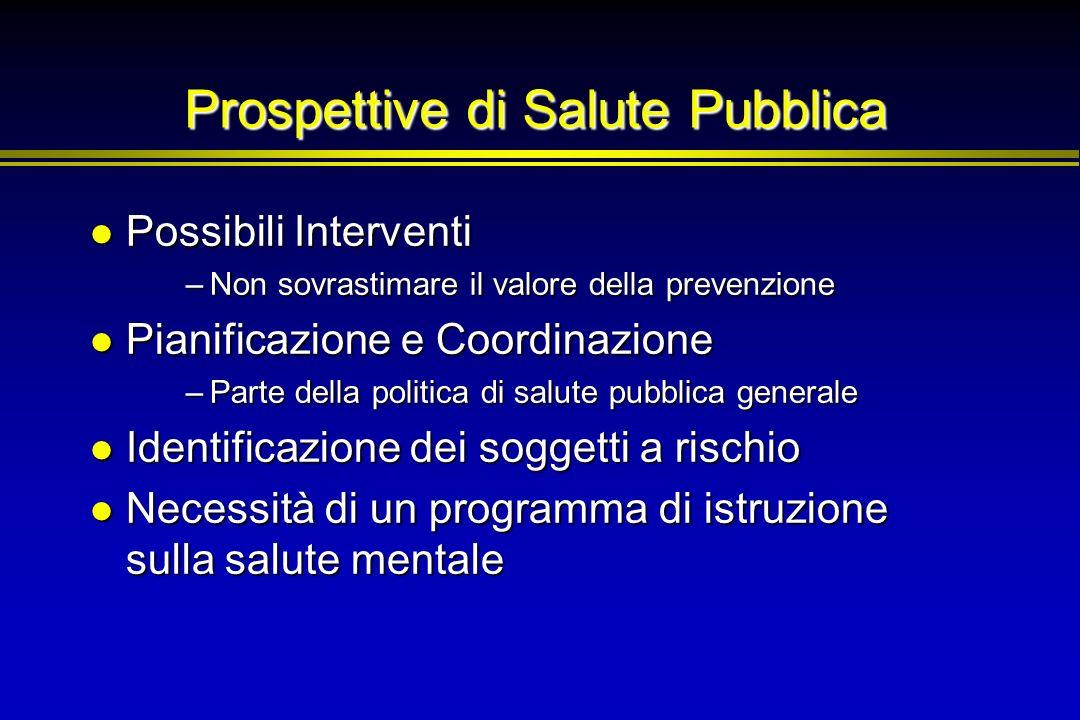 Prospettive di Salute Pubblica