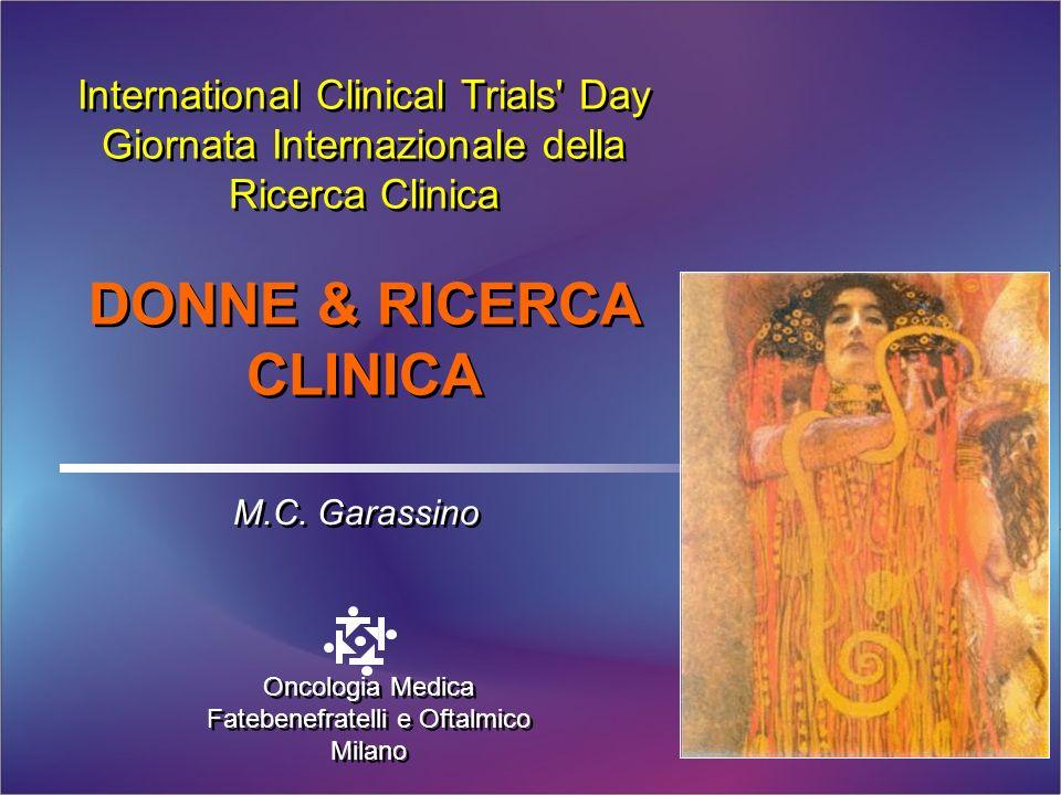 DONNE & RICERCA CLINICA
