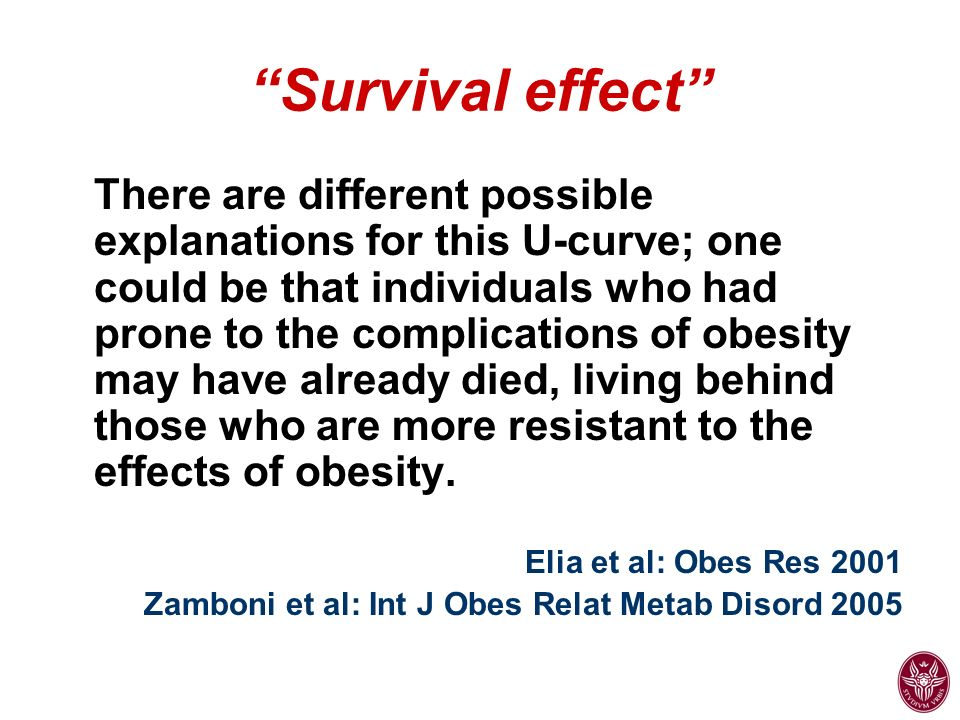 Survival effect