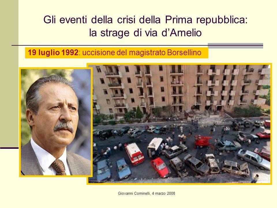 Giovanni Cominelli, 4 marzo 2008