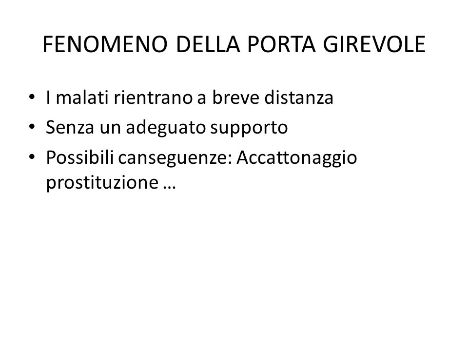 FENOMENO DELLA PORTA GIREVOLE