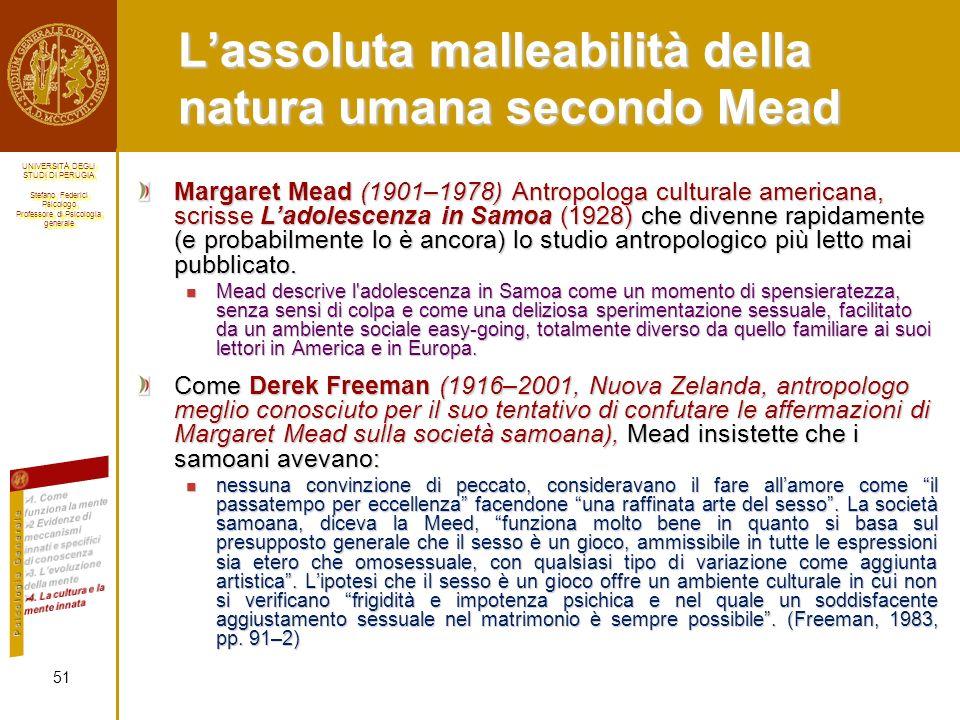 L'assoluta malleabilità della natura umana secondo Mead