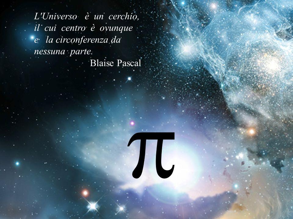 L Universo è un cerchio, il cui centro è ovunque e la circonferenza da nessuna parte.