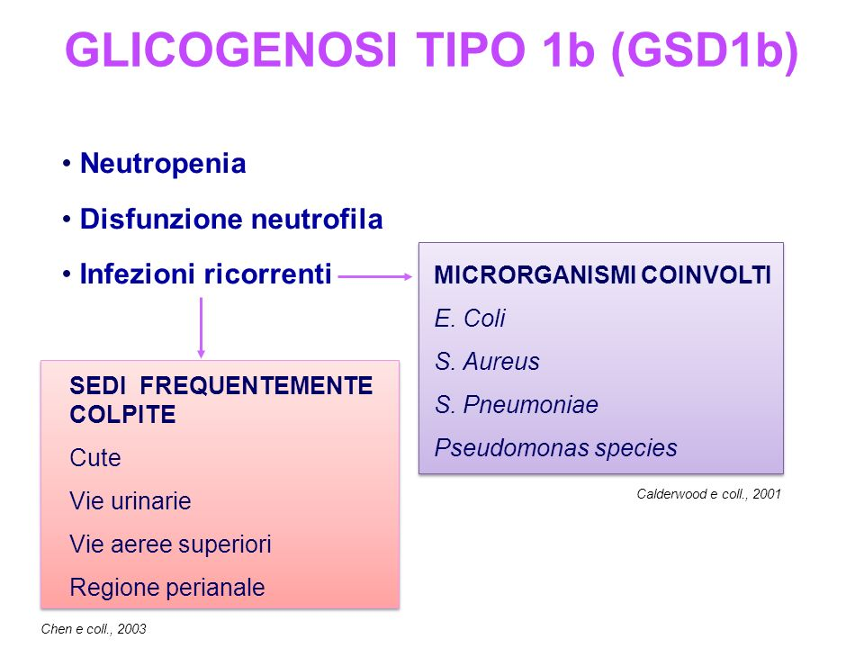 GLICOGENOSI TIPO 1b (GSD1b)