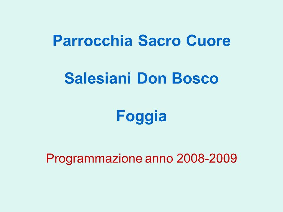 Parrocchia Sacro Cuore Salesiani Don Bosco Foggia