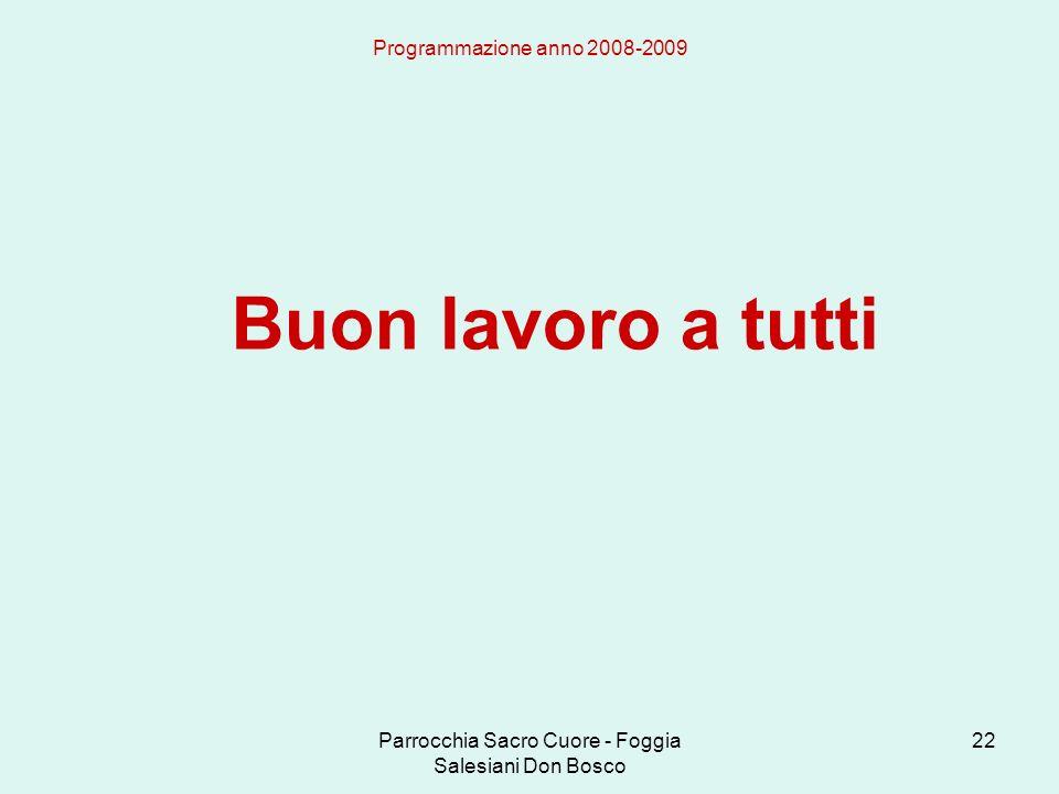 Parrocchia Sacro Cuore - Foggia Salesiani Don Bosco