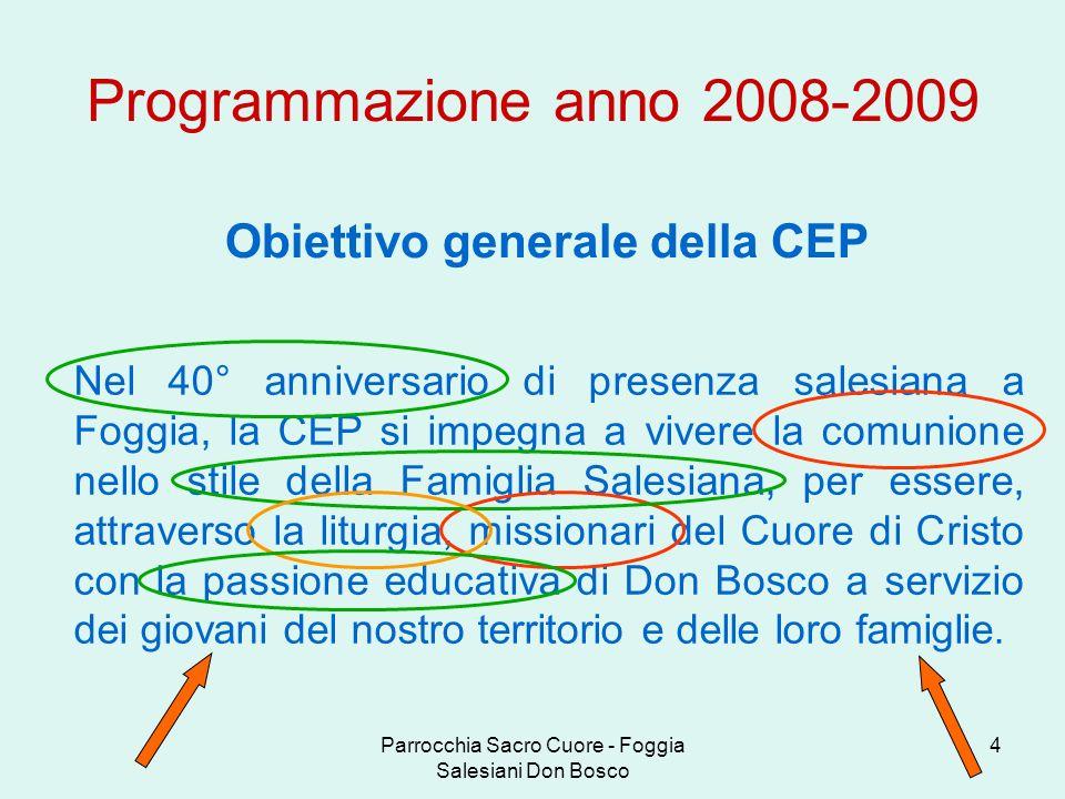 Obiettivo generale della CEP