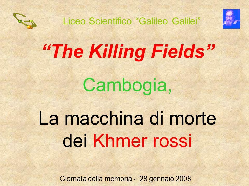 La macchina di morte dei Khmer rossi