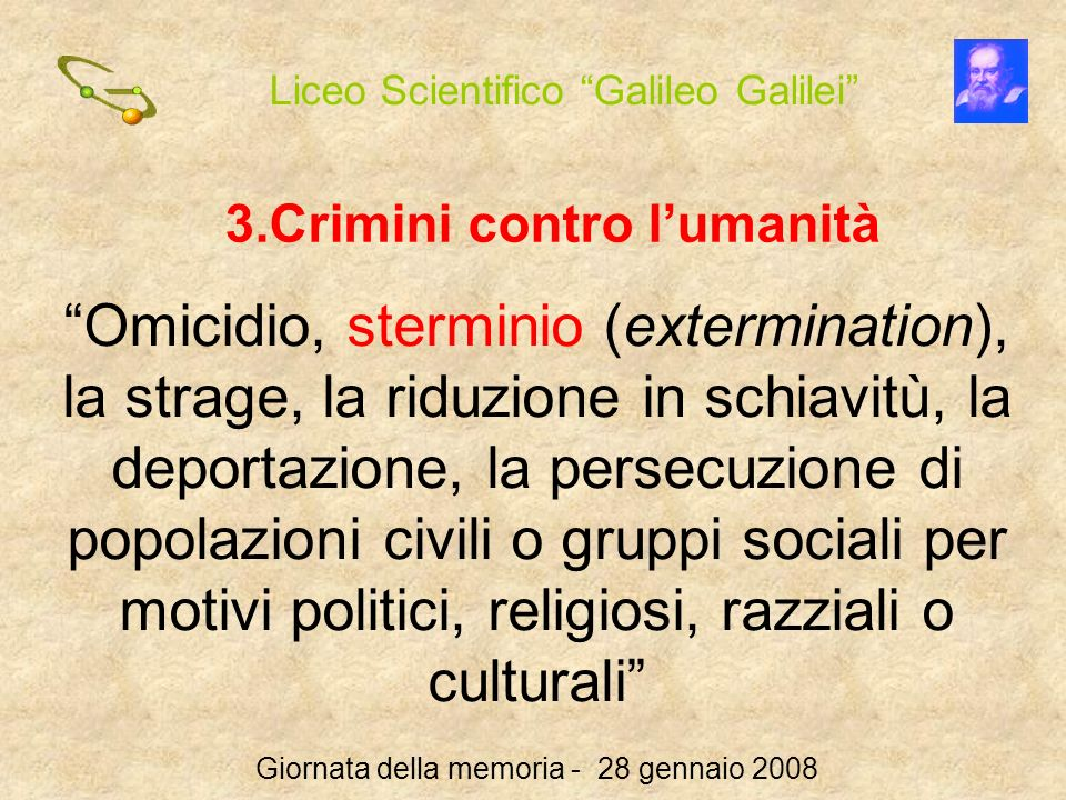 Crimini contro l'umanità