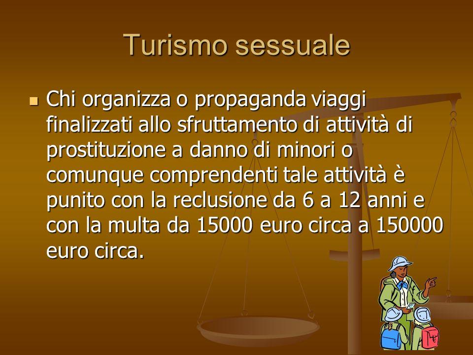 Turismo sessuale