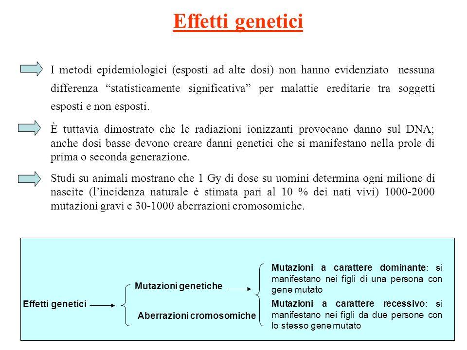 Effetti genetici