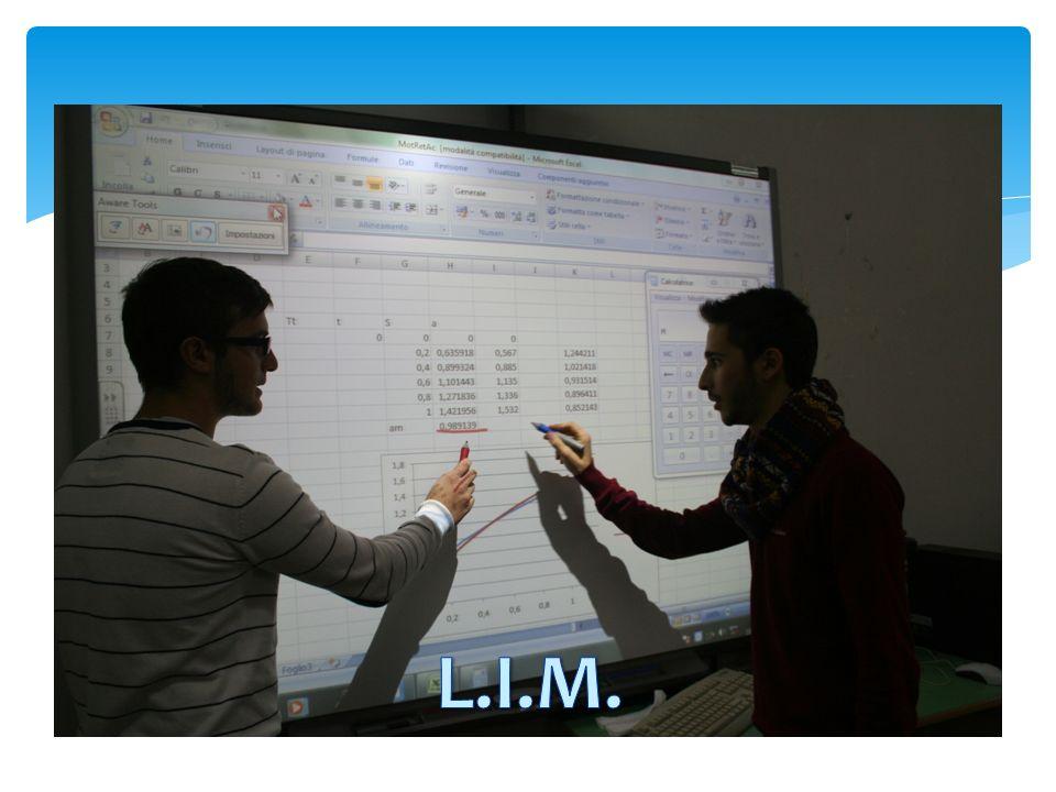 Laboratori multimediali dotati di lavagna interattiva multimediale