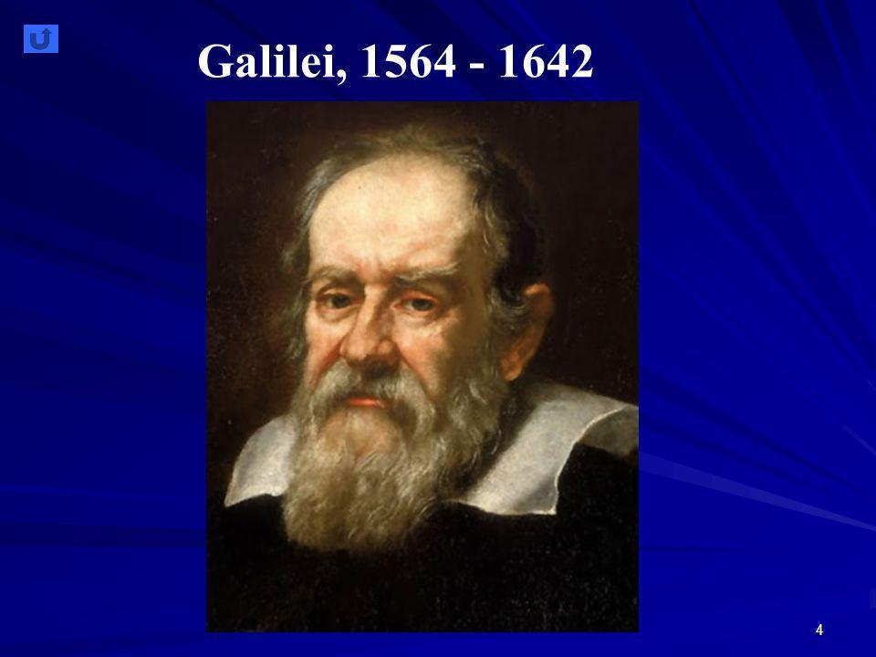 Galilei, 1564 - 1642