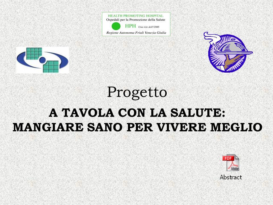 MANGIARE SANO PER VIVERE MEGLIO