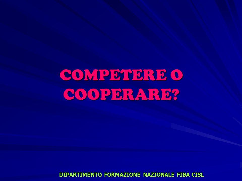 DIPARTIMENTO FORMAZIONE NAZIONALE FIBA CISL