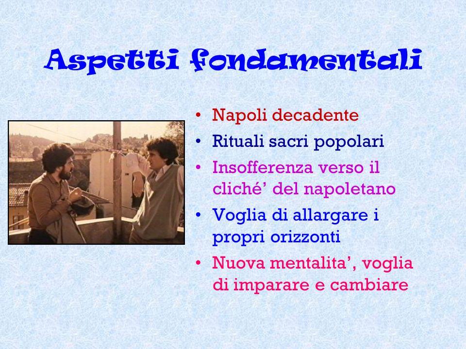 Aspetti fondamentali Napoli decadente Rituali sacri popolari