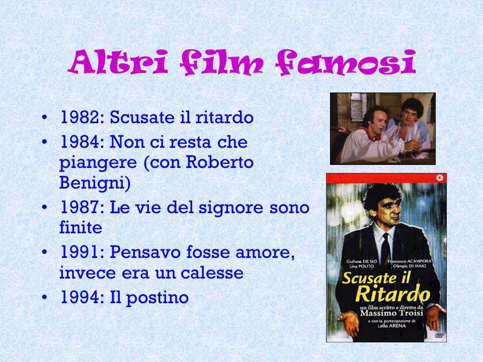 Altri film famosi 1982: Scusate il ritardo