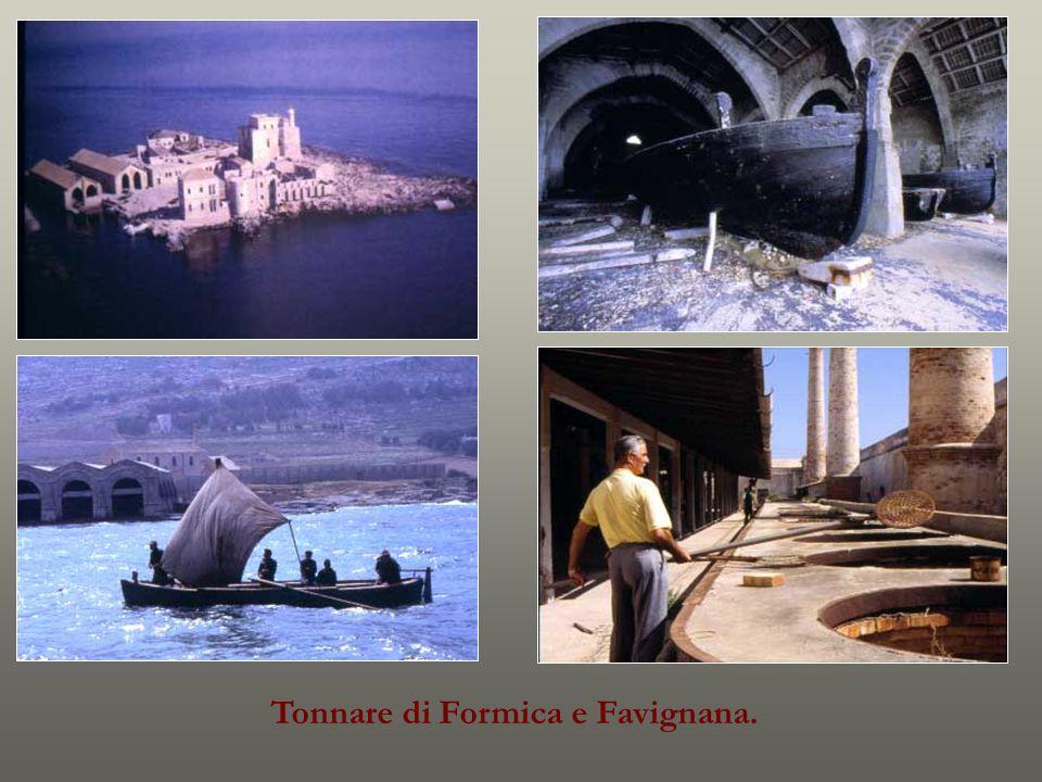 Tonnare di Formica e Favignana.
