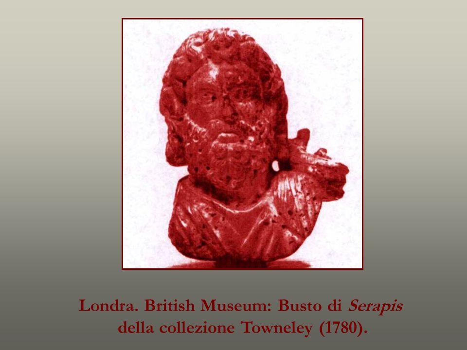 Londra. British Museum: Busto di Serapis