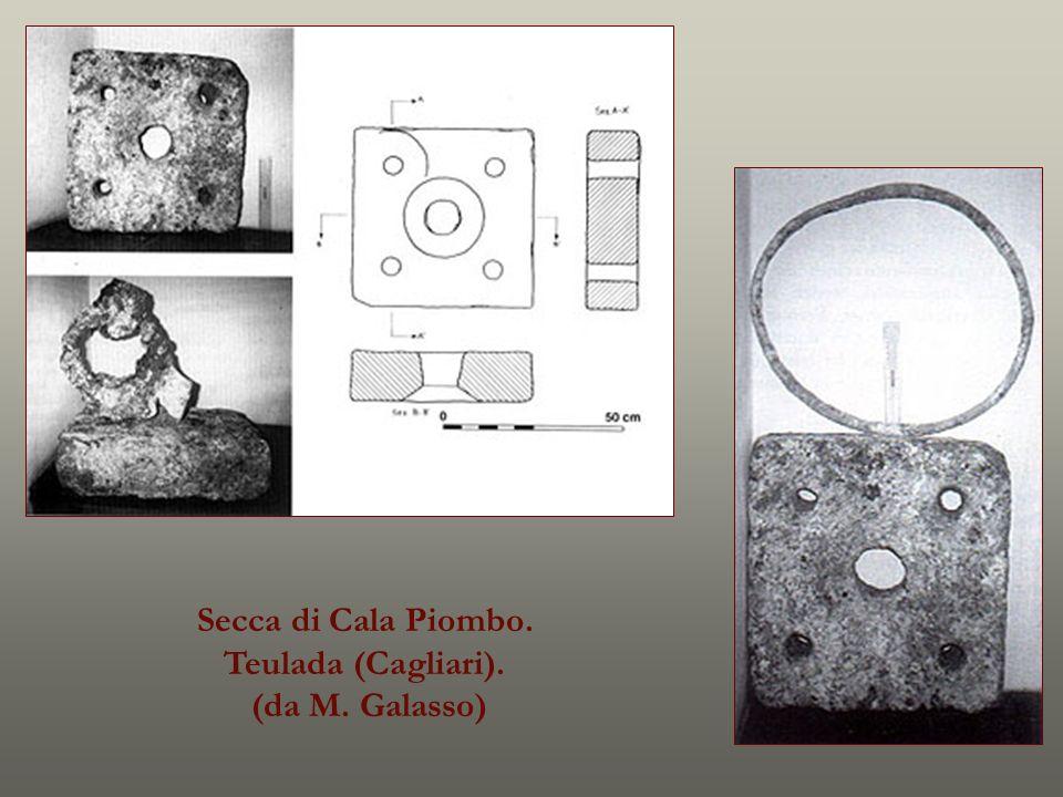 Secca di Cala Piombo. Teulada (Cagliari). (da M. Galasso)