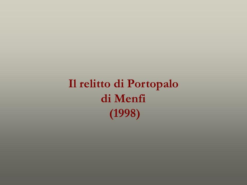 Il relitto di Portopalo