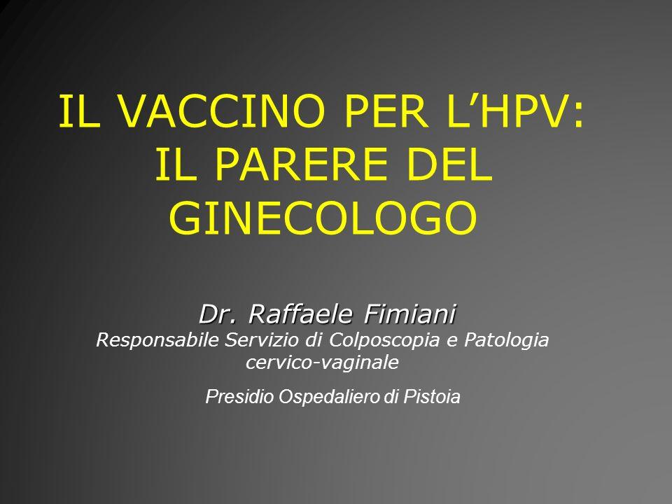 IL VACCINO PER L'HPV: IL PARERE DEL GINECOLOGO