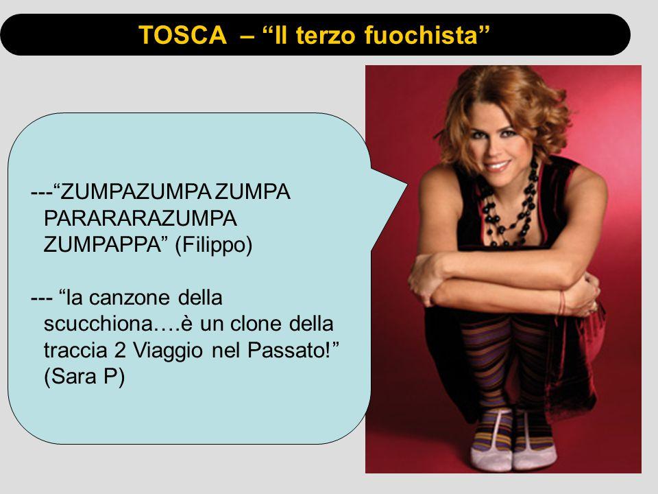 TOSCA – Il terzo fuochista