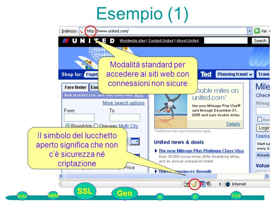 Modalità standard per accedere ai siti web con connessioni non sicure