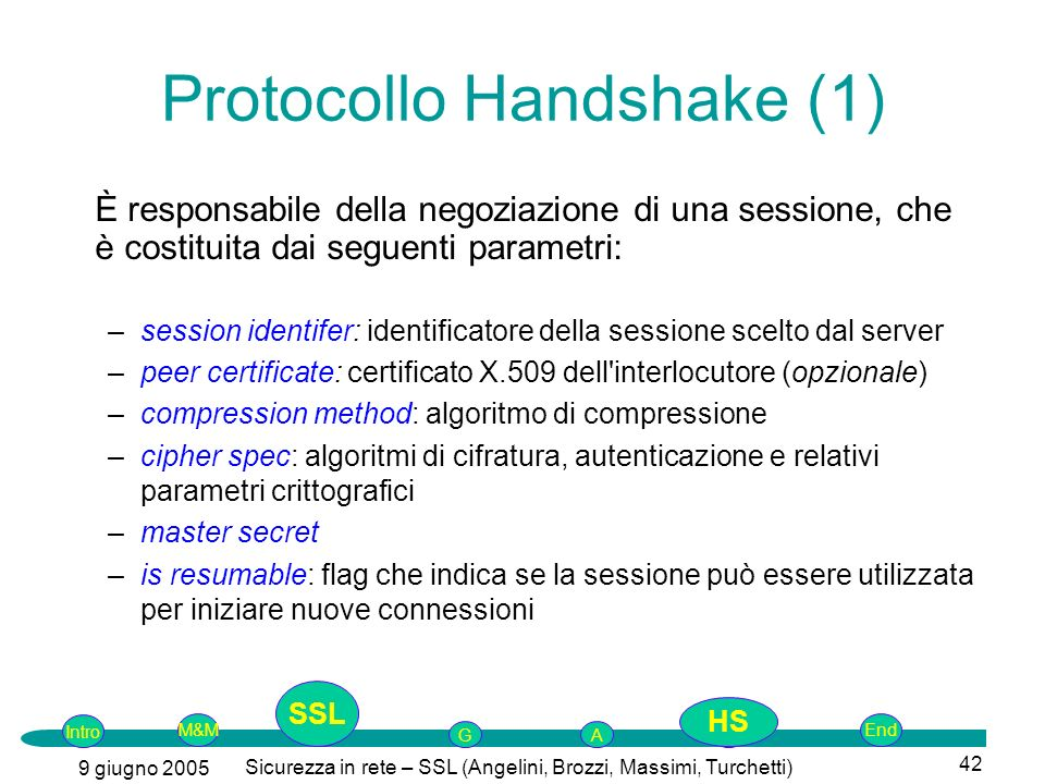 Protocollo Handshake (1)